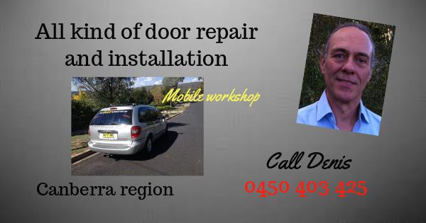 Doors repair and installation specialist