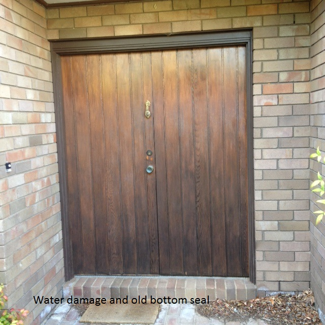 Timber door repair